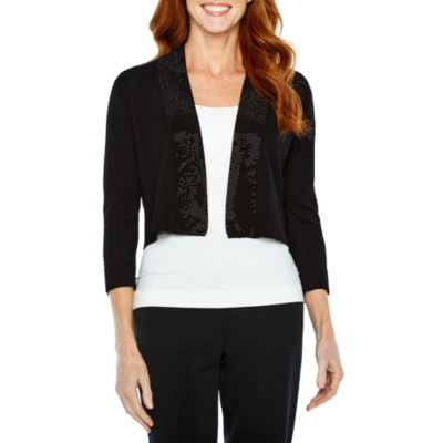 Ronni Nicole Shrugs 3/4 Sleeve Shrug