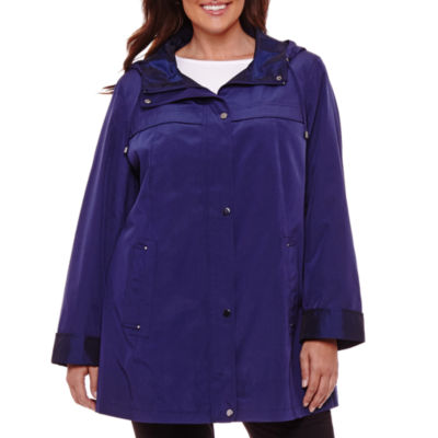 St. John's Bay Water Resistant Raincoat-Plus