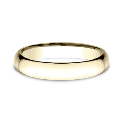 Mens 14K Yellow Gold Wedding Band