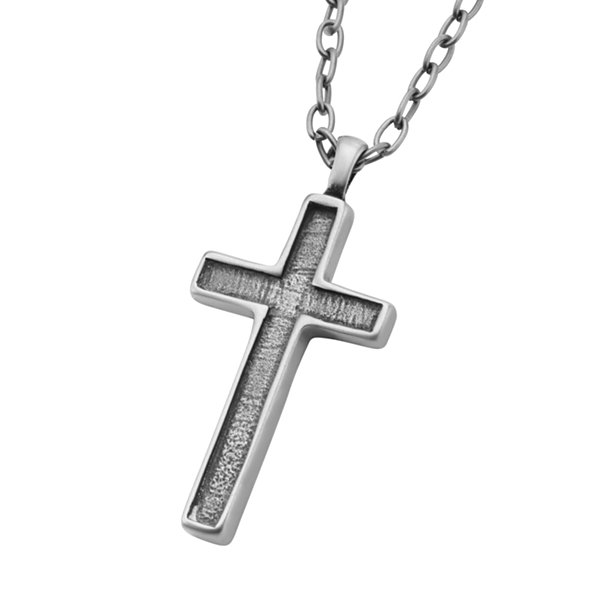 Mens Stainless Steel Pendant Necklace