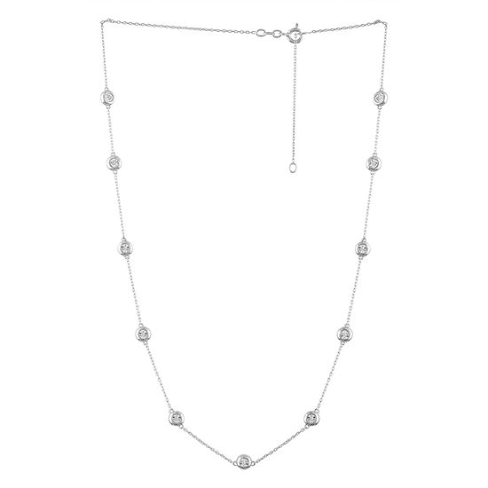 Sterling Silver 24 Inch Cable Chain Necklace