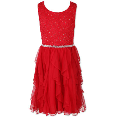 Speechless Sleeveless Peasant Dress - Big Kid Girls