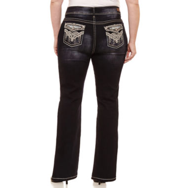 Wallflower Bootcut Jeans-Juniors Plus