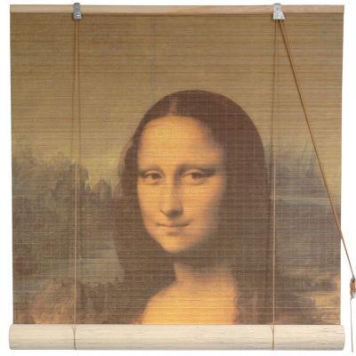 Oriental Furniture Mona Lisa Bamboo Roller Shade