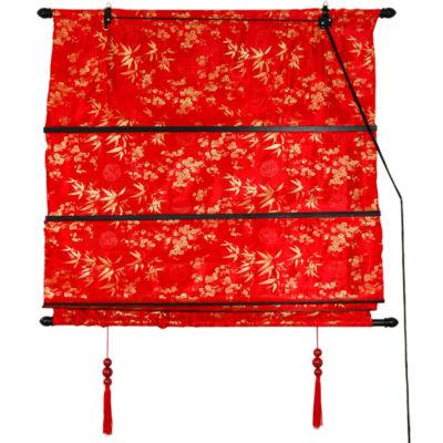 Oriental Furniture Shang Hai Tan Roman Shade