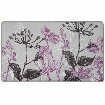 Nicolette Reversible Memory Foam Bath Rug Collection