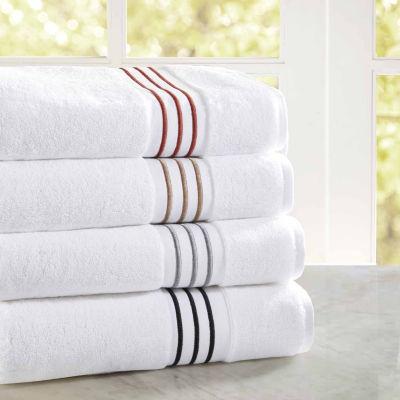 Madison Park Signature Coelho 6-pc. Stripes Bath Towel Set