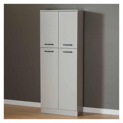 South Shore Axess 4-Door Storage Kitchen Pantry