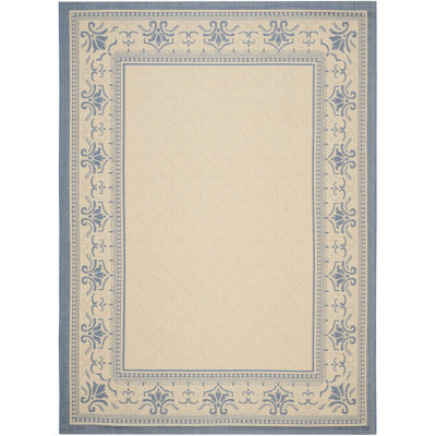 Safavieh Courtyard Collection Alden Oriental Indoor/Outdoor Area Rug