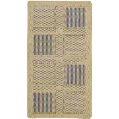 Safavieh Courtyard Collection Bronagh Geometric Indoor/Outdoor Area Rug