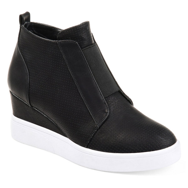 Journee Collection Womens Clara Wedge Sneaker