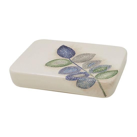 Croscill Classics Mosaic Leaves Soap Dish