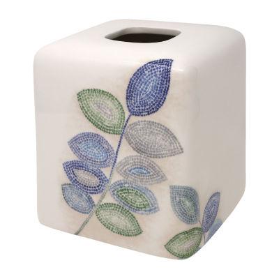 Croscill Classics Mosaic Leaves Tissue Box Cover
