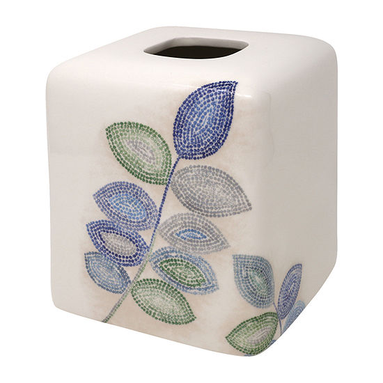 Croscill Classics Mosaic Leaves Tissue Box Cover