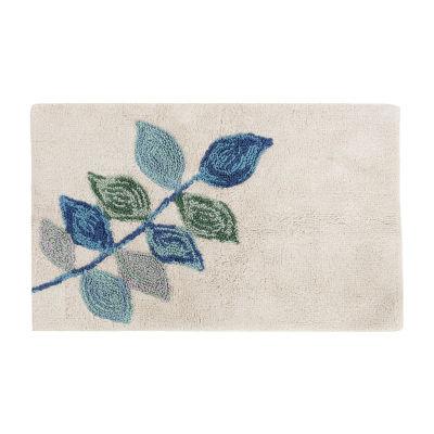 Croscill Classics Mosaic Leaves Bath Rug