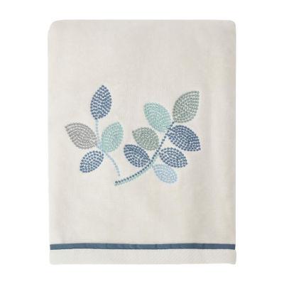 Croscill Classics Mosaic Leaves Leaf Bath Towel