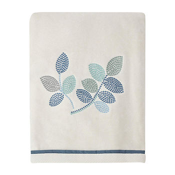 Croscill Classics Mosaic Leaves Leaf Bath Towel Color Spa Jcpenney