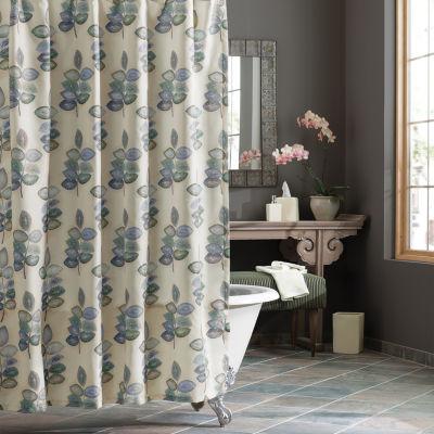 Croscill Classics Mosaic Leaves Shower Curtain