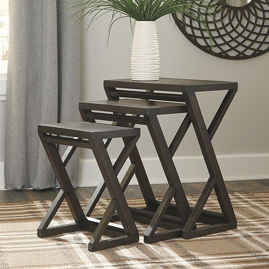 Signature Design by Ashley Cairnburg 3-pc. Nesting Tables