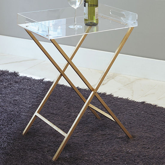 Signature Design By Ashley Ervinville Chairside Table