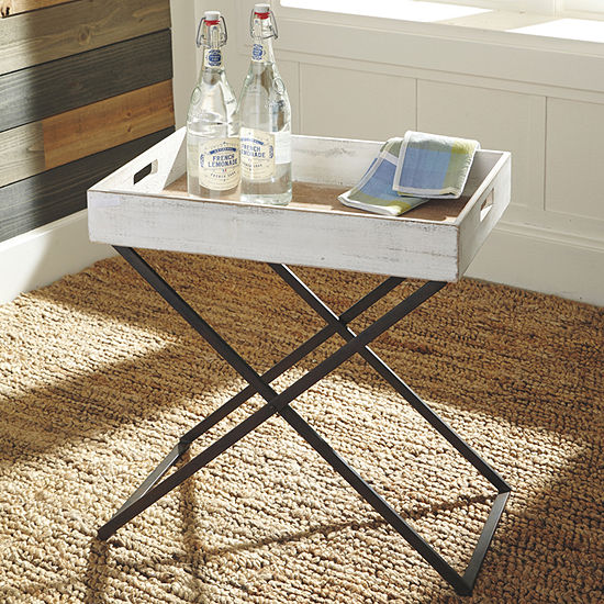 Signature Design by Ashley Janfield Chairside Table