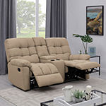 Errol 2 Seat Recliner with 1 Power Storage Console