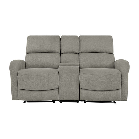 Estes 2 Seat Recliner with 1 Power Storage Console