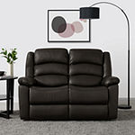 Hairu PU 2 Seat Recliner Loveseat