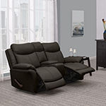 Omar 2 Seat Recliner with 1 Power Storage Console