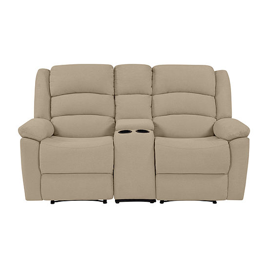 Hairu 2 Seat Recliner with 1 Power Storage Console