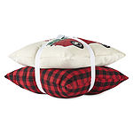 North Pole Trading Co. Home For The Holidays 2-Pack Square Throw Pillow