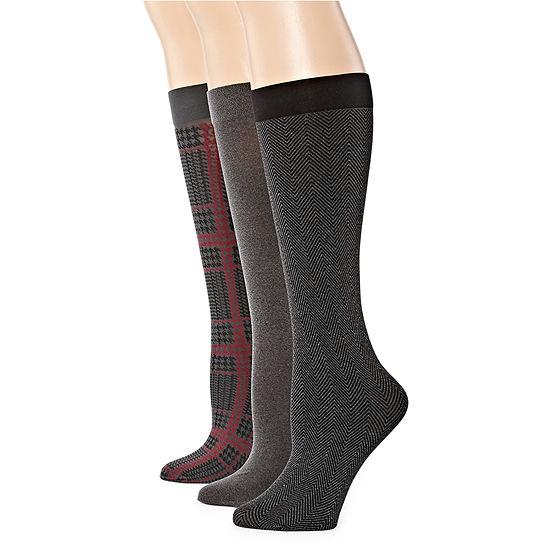 Mixit 3 Pair Trouser Socks Womens