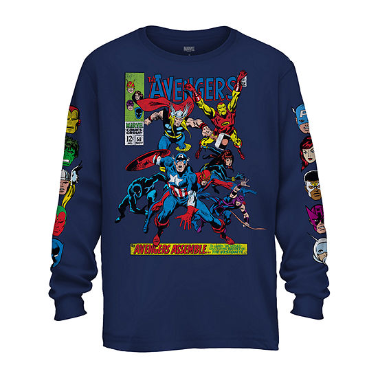 Mens Marvel Graphic T Shirt
