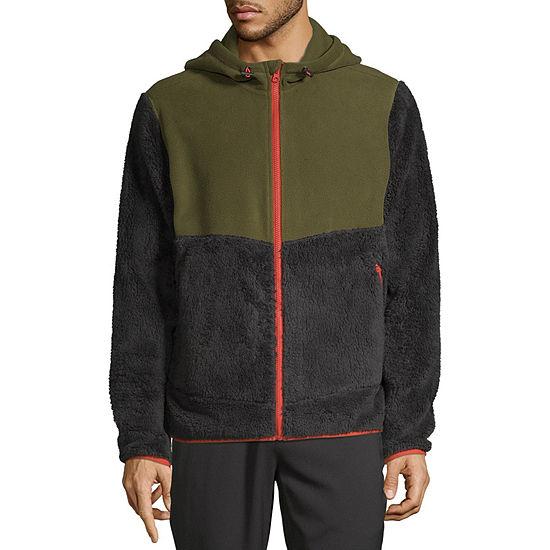 Xersion Mens Outdoor Lightweight Fleece Jacket