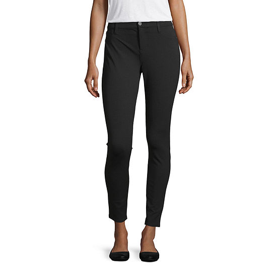 a.n.a Womens Mid Rise Skinny Fit Ankle Pant