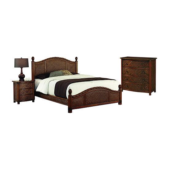Home Styles Marco Island 3-pc. Bedroom Set