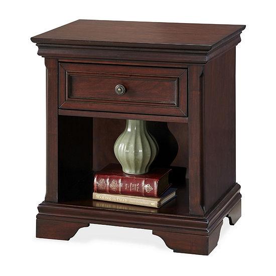 Home Styles Lafayette 1-Drawer Nightstand