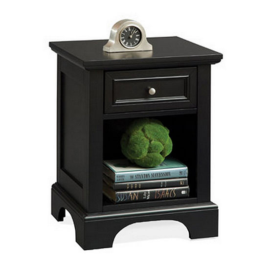 Home Styles Bedford 1-Drawer Nightstand