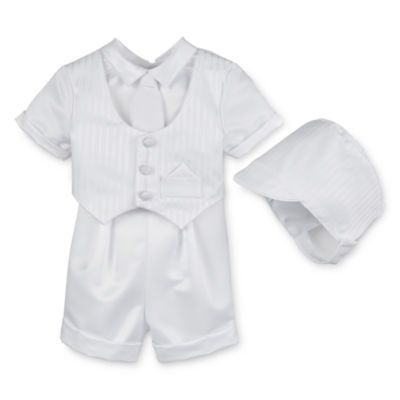 Keepsake® Christening Shorts Set - Boys newborn-24m