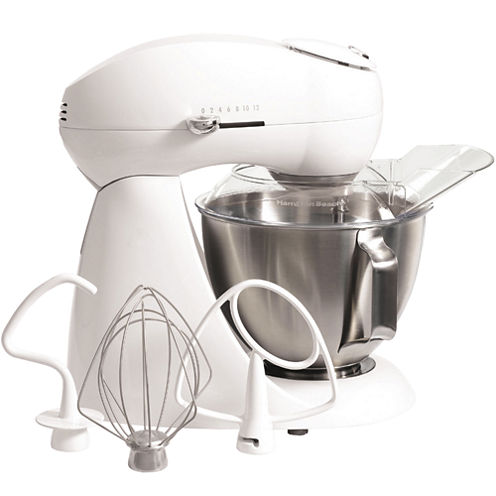 Hamilton Beach® Stand Mixer + 4½-qt. Stainless Steel Bowl