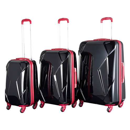Chariot Travelware Antonio 3-pc. Hardside Luggage Set