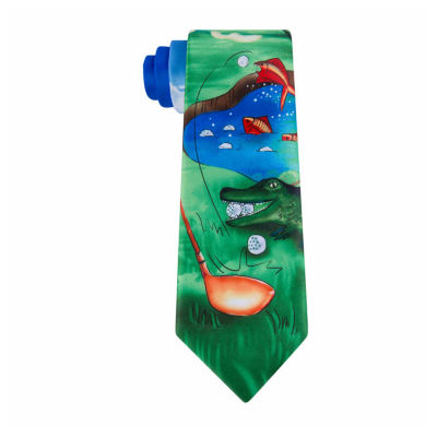 American Traditions Golf Tie