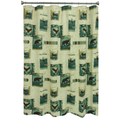 Bacova Guild Discover the Wild Shower Curtain