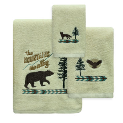 Bacova Guild Discover The Wild Bath Towel Collection