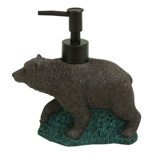 Bacova Guild Discover The Wild Bear Soap Dispenser