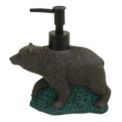 Bacova Guild Discover The Wild Bear Soap Dispenser