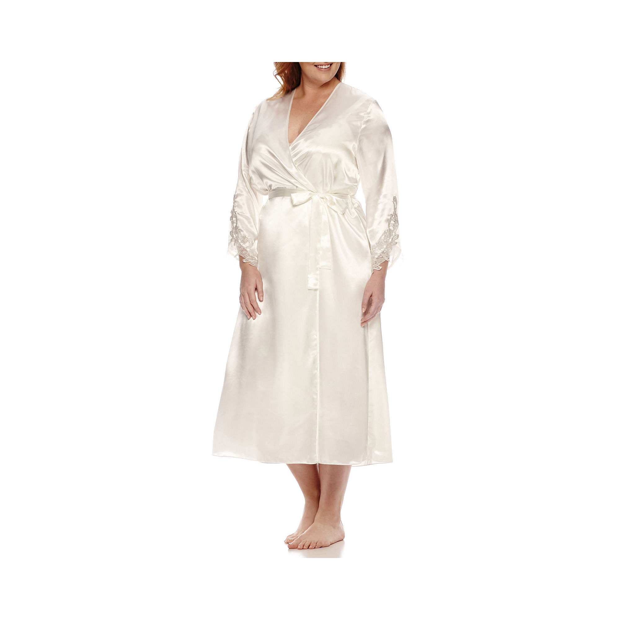 Flora Stella Charmeuse Robe - Plus plus size,  plus size fashion plus size appare