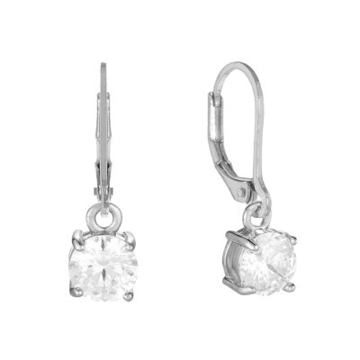 Gloria Vanderbilt Circle Drop Earrings