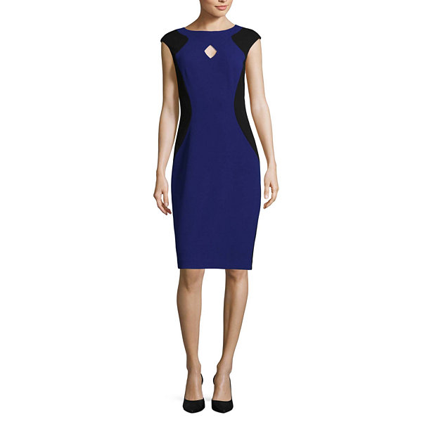 Melrose Cap Sleeve Sheath Dress