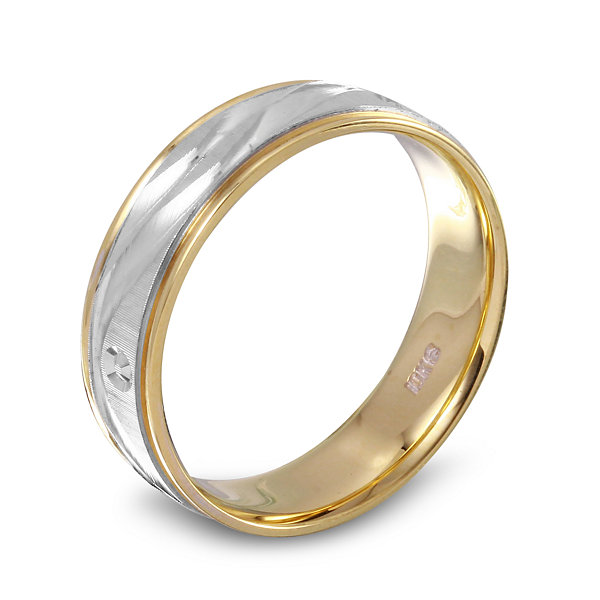 Mens 10K Gold Band